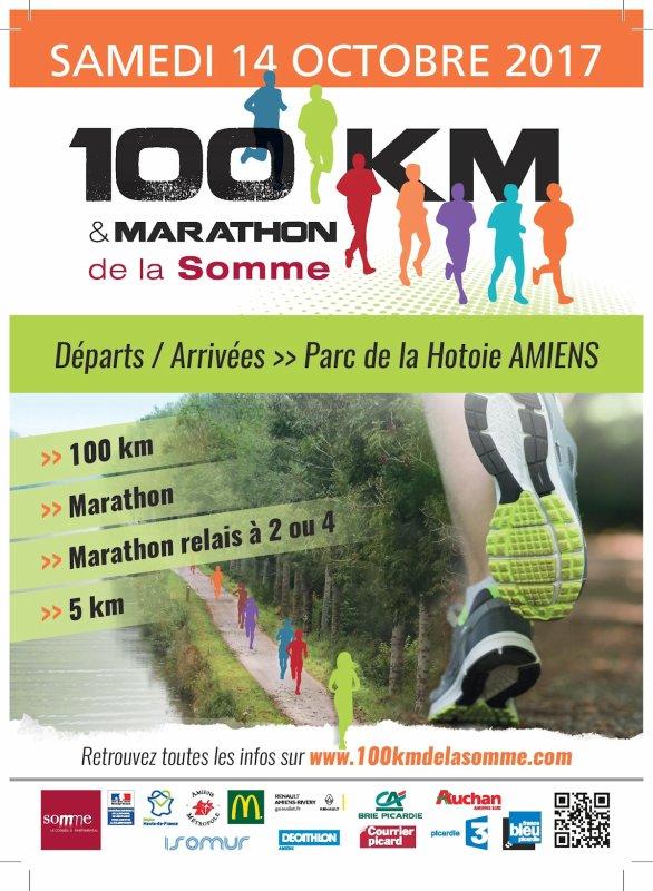 samedi 14 octobre 2017 , les 100 km du val de Somme ...