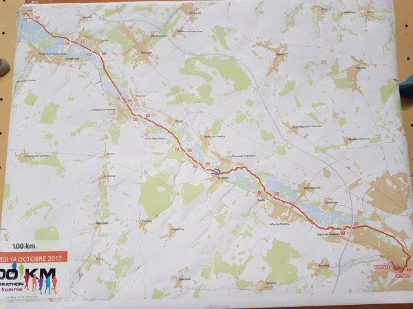 les 100 km du Val de Somme , samedi 14 octobre 2017 ...