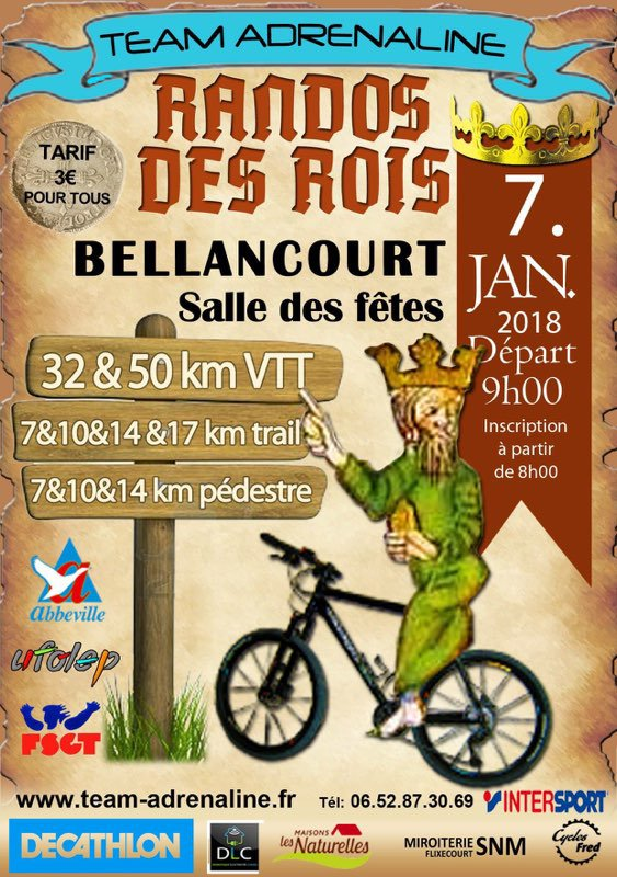 course a pied 7 janvier 2018