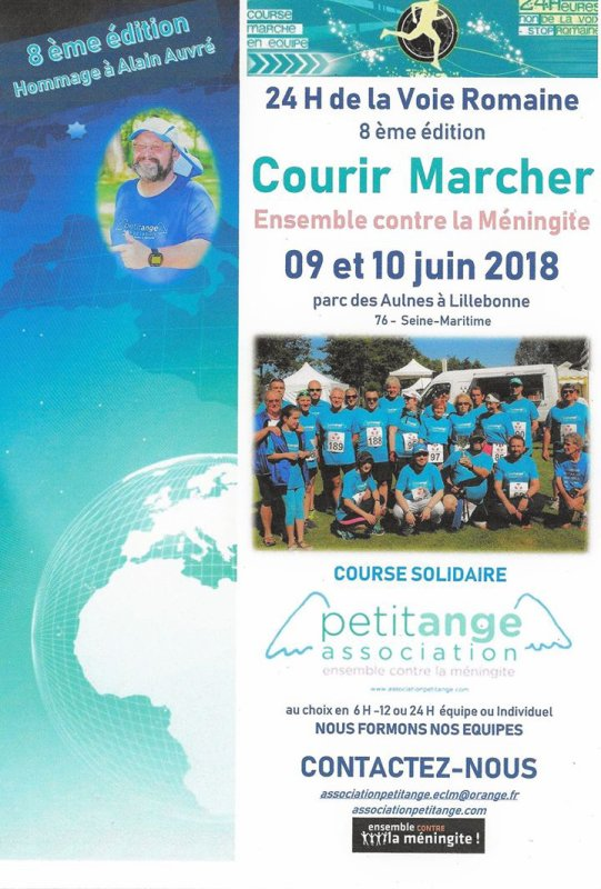 les 24 h de la voie romaine , samedi/dimanche 9/10 juin 2018 , Normandie ...