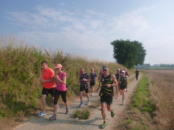 la forestière , course nature , Crecy en Ponthieu , Somme , dimanche 8 juillet 2018...