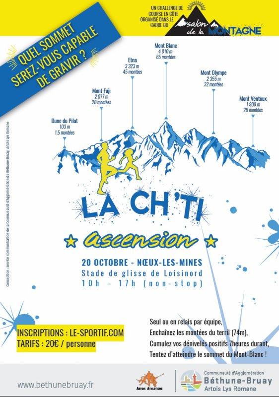 """La Ch'ti """" ascension"""" , samedi 20 octobre 2018 , Haut de France ..."""