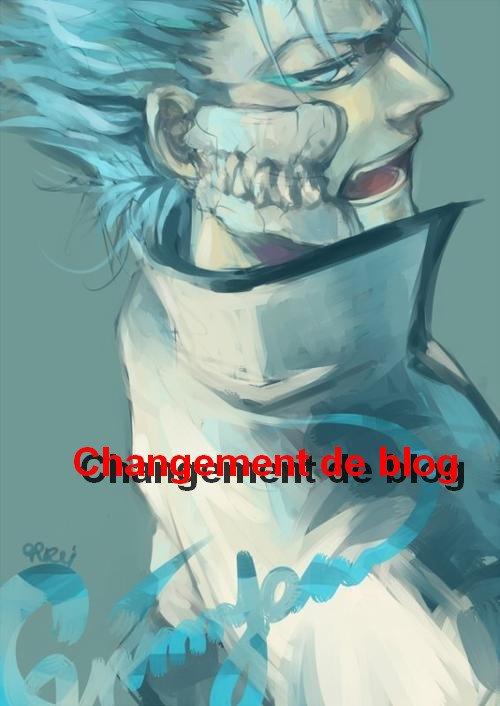 Changement de blog