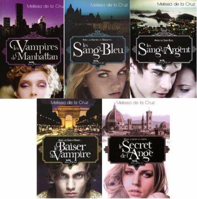 Les vampires de Manathan -- Les sang-bleu -- Les sang d'argent -- Le baiser du vampire -- Le secret de l'ange .