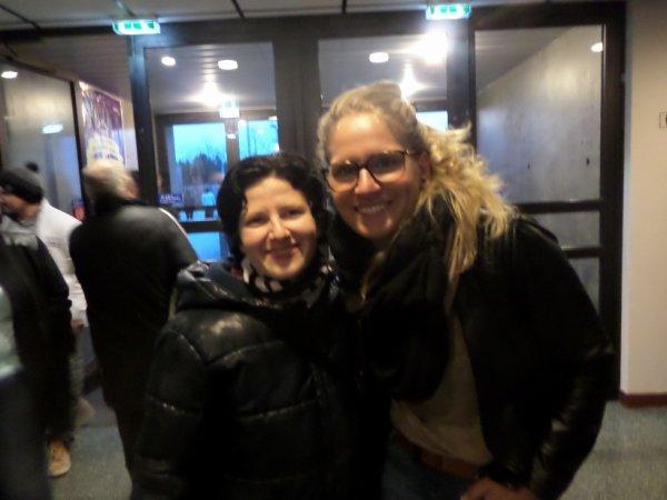 Photo avec Laure Lepailleur ( FC Juvisy)