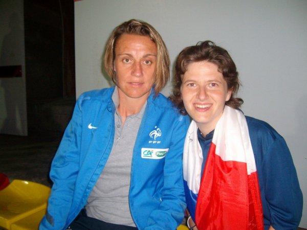 Photo avec Sandrine Soubeyrand ( edf)