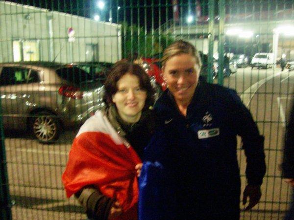 Photo avec Camille Abily ( Edf)