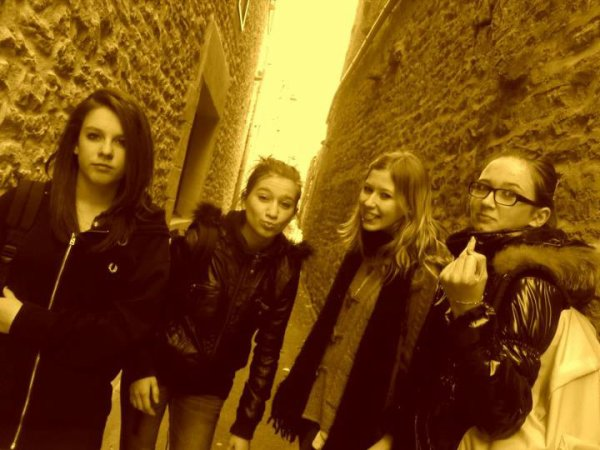 Manon, Lorana, Julie, Justine ♥