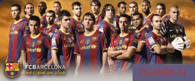 T'estimo, Barça (5-0)