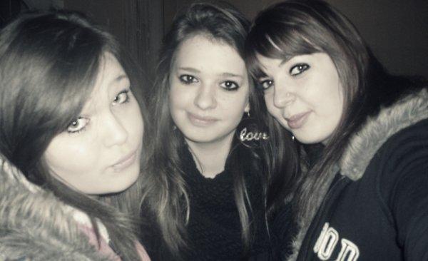 Ma meilleure amie, Moi et la soeur!<3
