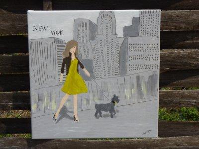 new york acrylique