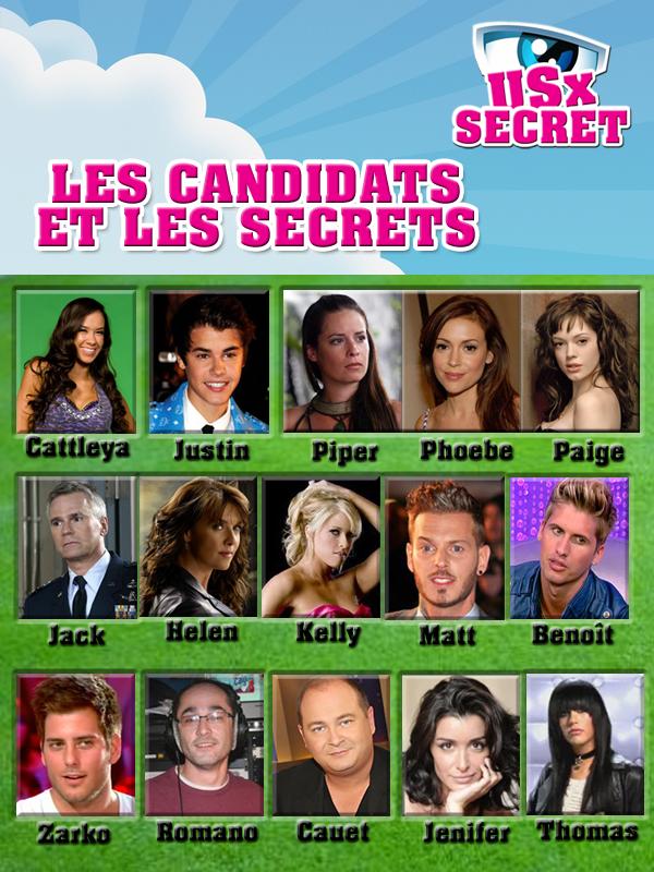 -                                                             Candidats & Secrets