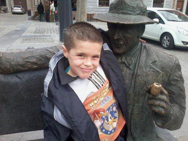 mon fils jordan 8ans