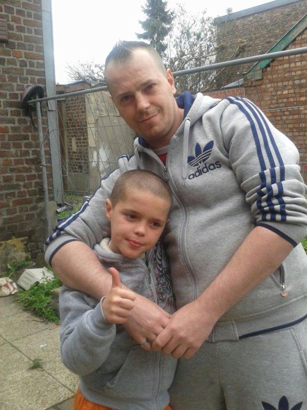 moi et mon fils <3 <3 <3
