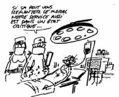 La crise du système hospitalier