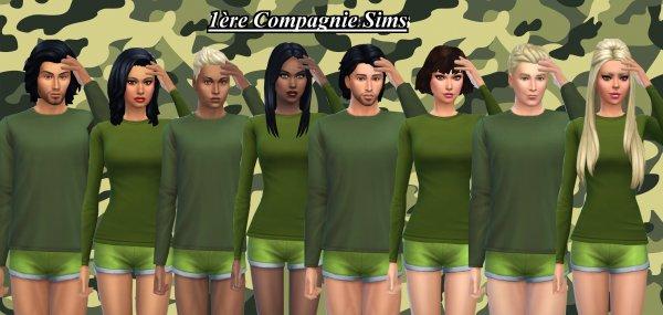 1ère Compagnie Sims