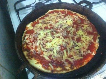 طريقة عمل بيتزا الطاجين