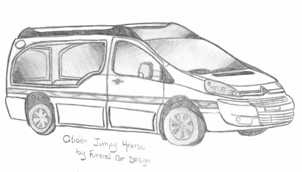 Citroën Jumpy long Hearse