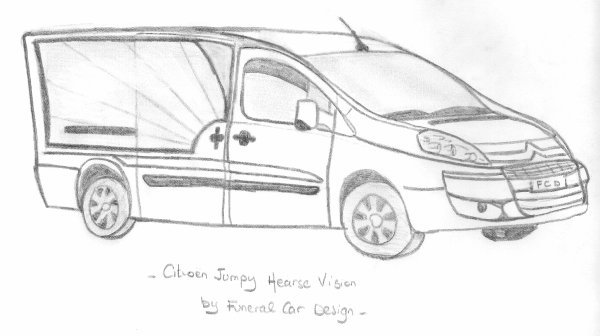 Citroën Jumpy Hearse Vision