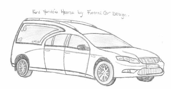 Ford Mondéo Hearse Limousine
