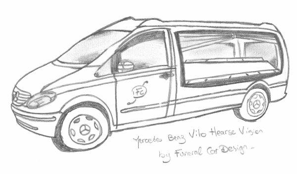 Mercedes Vito Hearse