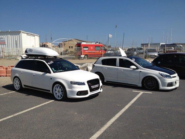 Nous deux au GTI du Cap d'Agde!