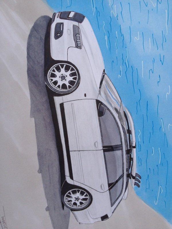 Beau dessin Audi
