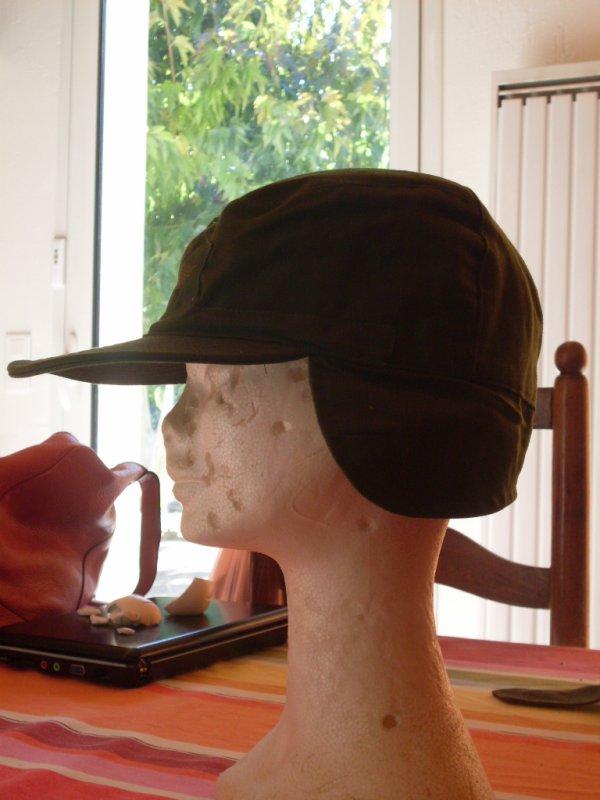 Ma casquette Suédois !!!