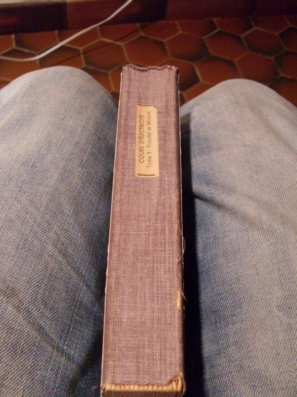 Trouvaille parmi les livre !!!