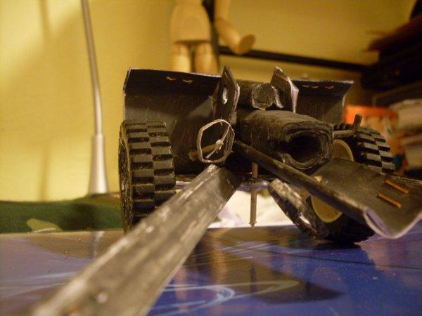 Voila le canon de 105 mm fini !!!