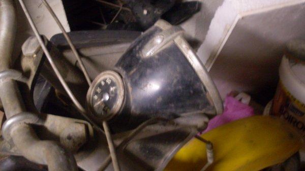 Voila je vais restaurer cette moto de 1950 !!!