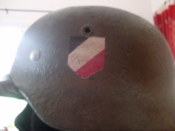 Fin de restoration de mon casque Allemand model 39 !!!