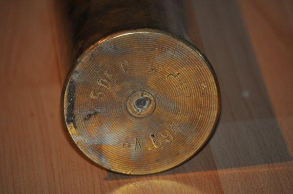 Douille de 75 WW1 .