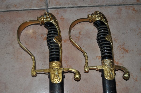Les sabres Allemand .