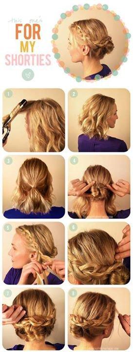 astuce cheveux pour les failles ;) ♥♥♥