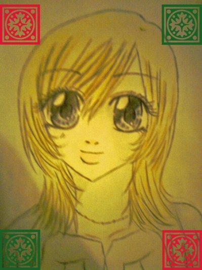 Nina White en dessin by moi