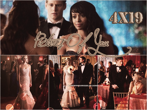 ♦ Fiche-épisode 4x19 → Pictures Of You ←