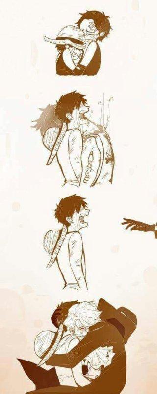 Luffy ne pleure pas!