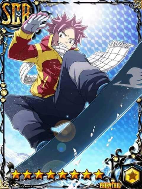 Fairy Tail carte!