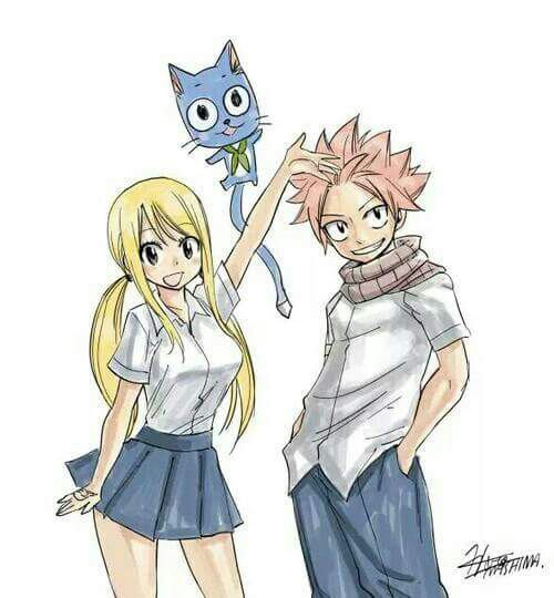J'ai envie de...Fairy Tail. :-P