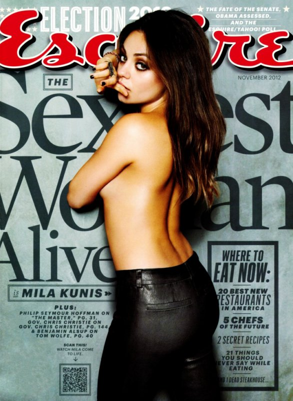Mila Kunis - Esquire's Sexiest Woman Alive