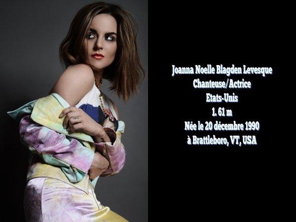 """Joanna """"JoJo"""" Levesque"""