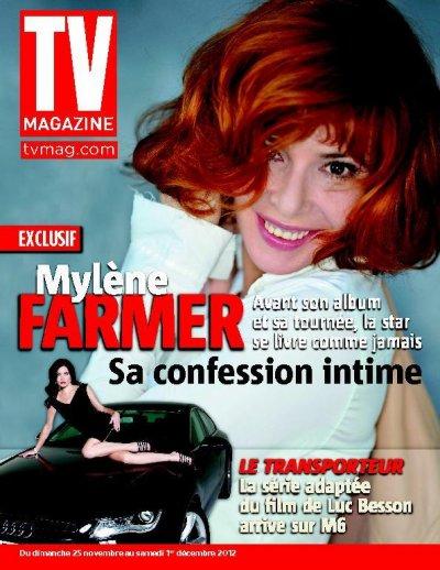 Mylène à la une de TV magazine