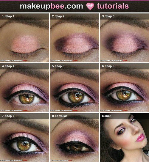 •Tutoriel make up n°1