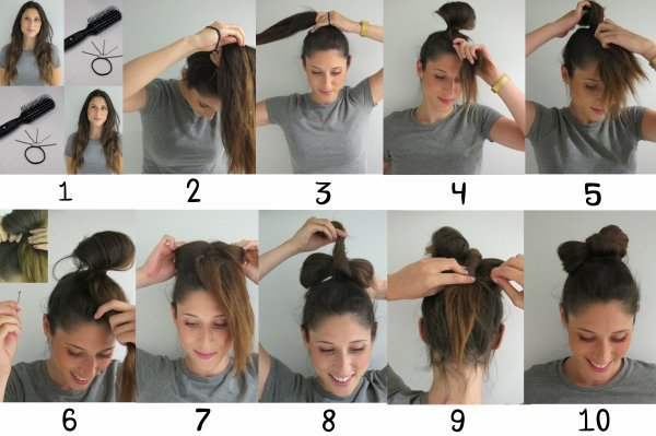 • Tutoriel coiffure