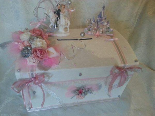 urne mariage thème princesse