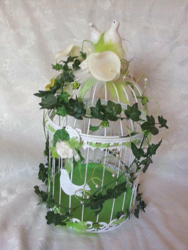 urne mariage cage oiseaux - Urne Mariage Cage Oiseau