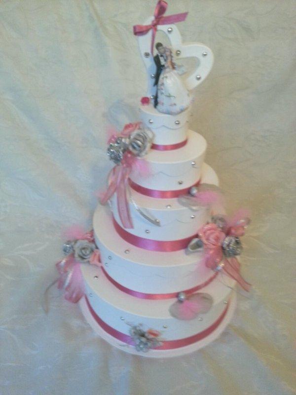Urne De Mariage Pièce Montée Wedding Cake La Copie N