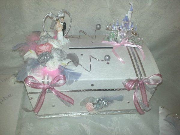 Urne de mariage thème princesse (2)