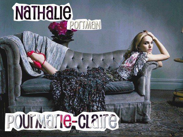 Photo coup de ♥ : Nathalie Portman pour Marie - Claire